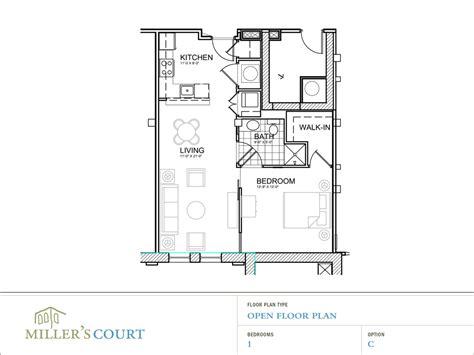 1 floor plans 1 bedroom open floor plans submited images