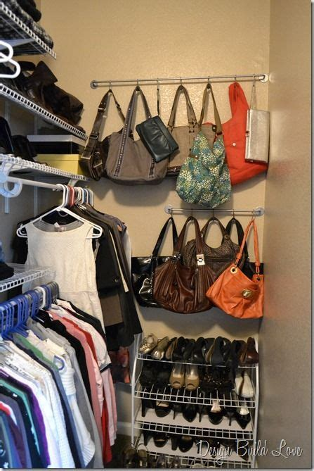Closet Hooks For Purses by Purse Storage Organization On Purse Storage