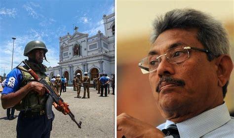 sri lanka easter sunday attacks presidential hopeful vows  wipe  islamist extremism wadnews