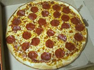 Review: Little Caesars - Thin Crust Pepperoni Pizza ...