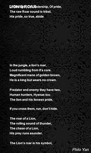 Tribal Leadership Lion 39 S Roar Poem By Philo Yan Poem Hunter