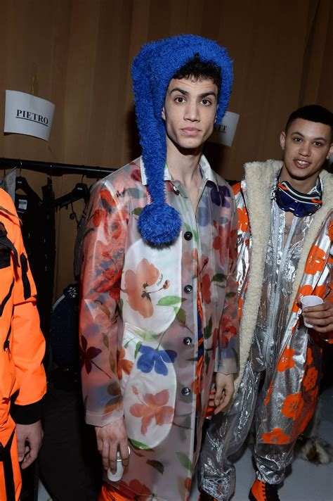 backstage moschino fw   mens collection