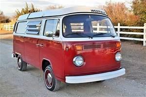 1973 Vw Bus Westfalia Camper  Type 2  Restored  No Reserve