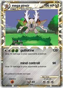 Pokémon mega pinsir 3 3 - guillotine - My Pokemon Card