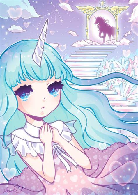 images cute anime unicorn girl
