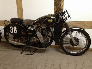 1941 Matchless G3L Racer Classic Motorcycle Pictures