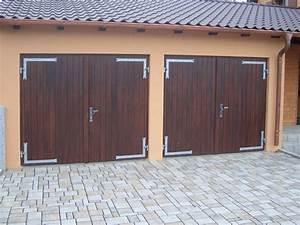Garagentor Aus Holz : garagentor 2 fl gelig holz nabcd ~ Watch28wear.com Haus und Dekorationen