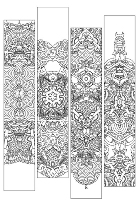 1000 about lets color bookmarks on student mandalas and