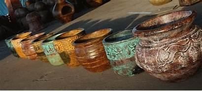 Pottery Mexican Barro Colors Tierra Del 2004