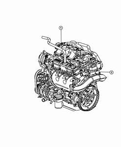2010 Jeep Wrangler Engine  Long Block  Remanufactured
