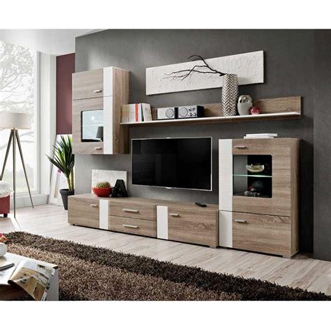 meuble tv mural design quot aleppo quot 240cm ch 234 ne blanc