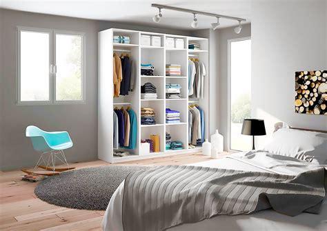 chambre toute blanche armoire de rangement penderie sur mesure centimetre com