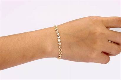 Bracelet Tattoo Delicate Coin Bracelets Dainty Gold