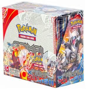 pokemon xy primal clash booster box