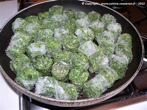 cuisiner epinards frais comment cuisiner epinards surgeles