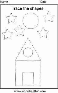 Preschool Worksheets / FREE Printable Worksheets ...  Tracing