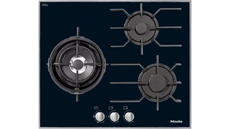 Buy Miele 620mm 3 Burner Natural Gas Cooktop