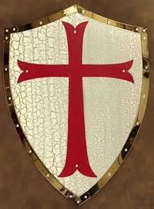 Knights Templar Cross Shield