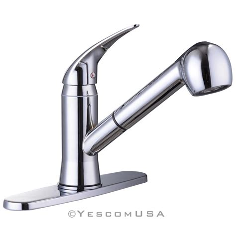 single handle pull out kitchen faucet pull out spray kitchen faucet swivel spout sink single