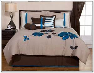 painting, of, king, size, bed, comforter, sets