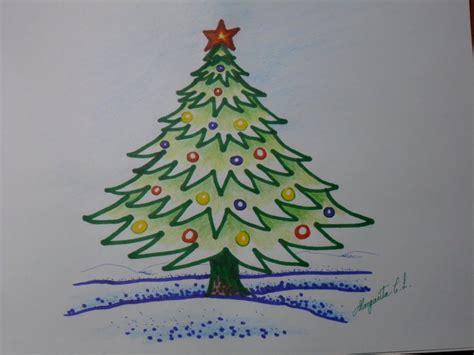 como dibujar arbol de navidad dibujo de 225 rbol de