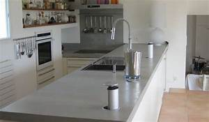 Beton Pour Plan De Travail : je viens d 39 acheter un appartement je refais tout mais ~ Premium-room.com Idées de Décoration