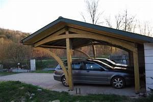 Garage 2 Voitures : carport ossature bois ~ Melissatoandfro.com Idées de Décoration