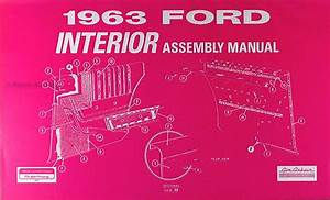 1963 Ford Galaxie 427 Racing Parts Info Homologation