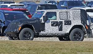 2018 Jeep Wrangler : 2018 jeep wrangler specs leak full time 4wd available ~ Medecine-chirurgie-esthetiques.com Avis de Voitures