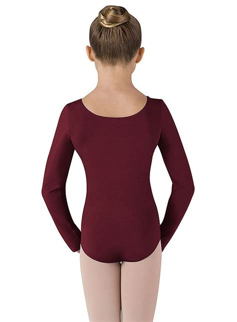 childrens long sleeve leotard  bloch