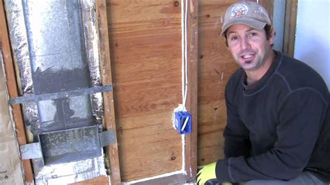 How to Install Insulation around Electrical Outlets and