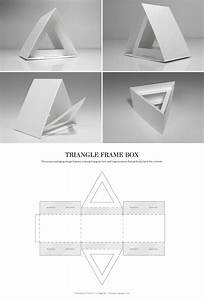 78 best packaging dielines images on pinterest for Triangle packaging template