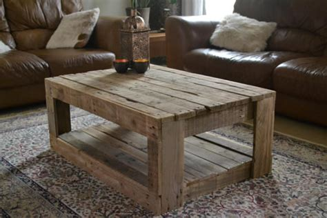 coffee table made out of pallet wood rustic table made with palletsdiy pallet furniture diy
