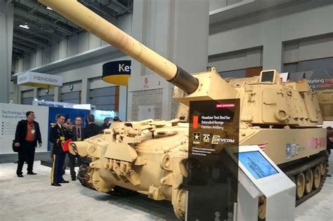 ausa   army gunning  extended range prototype