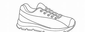 Running Shoe Template  U2013 Large