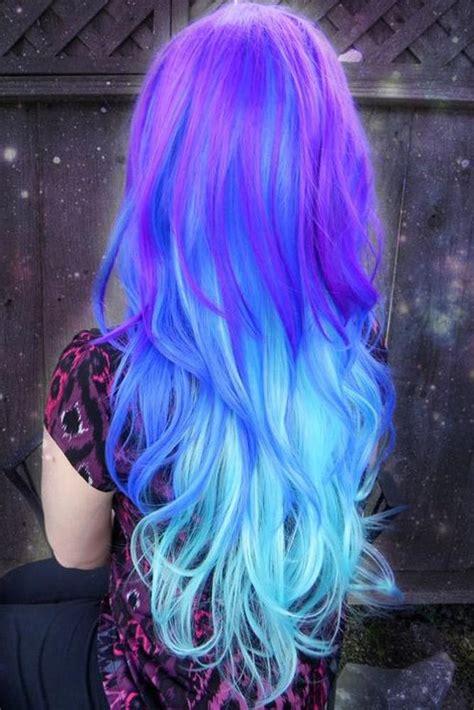Best 25 Blue Ombre Hair Ideas On Pinterest Light Blue
