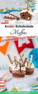 Backen Mit Kinderschokolade : kinder schokolade muffins rezept backen ~ Frokenaadalensverden.com Haus und Dekorationen
