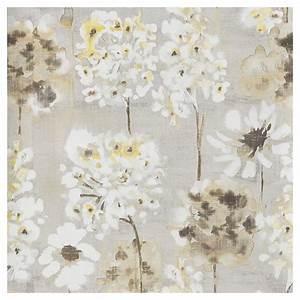 Papier Peint Fleuri Vintage : papier peint fleuri 20 5 x 33 39 jaune gris rona ~ Melissatoandfro.com Idées de Décoration