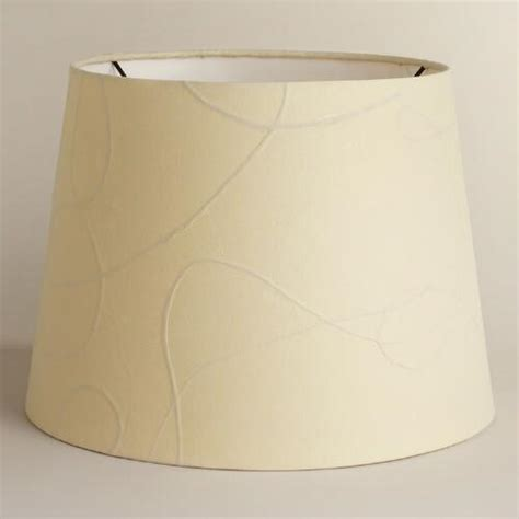 paper shade table l white mulberry paper table l shade world market