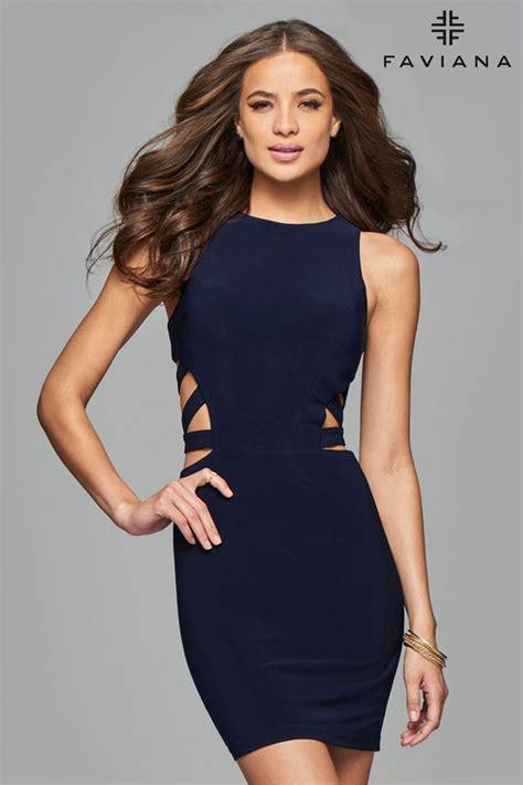 Faviana 7853 | Faviana dresses, Short dresses, Dress short ...