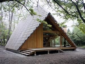 simple a frame cabins plans ideas photo y h 252 tte architecture kengo kuma and associates
