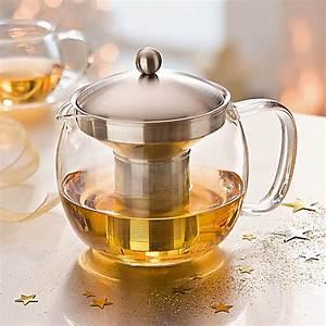 Teekanne Aus Glas Mit Sieb : glas teekanne mit teefilter einsatz aus edelstahl ~ Michelbontemps.com Haus und Dekorationen