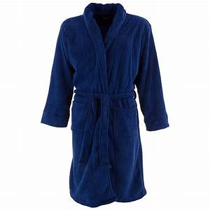 Blue izod bath robe for men for Robe blue