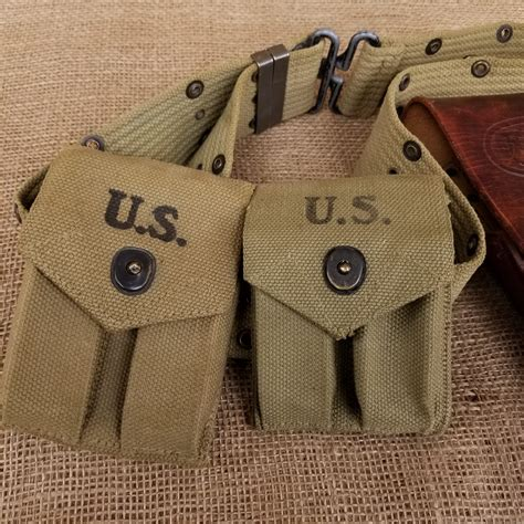 wwii  leather holster colt   arms  idaho
