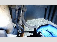 BMW brake pad wear sensor replacementreset YouTube