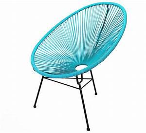 Fauteuil Bleu Turquoise : fauteuil acapulco bleu turquoise 79 salon d 39 t ~ Teatrodelosmanantiales.com Idées de Décoration