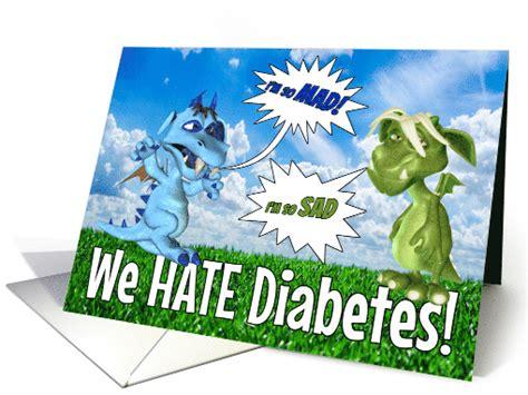dragons hate diabetes greeting cards  kids  diabetes