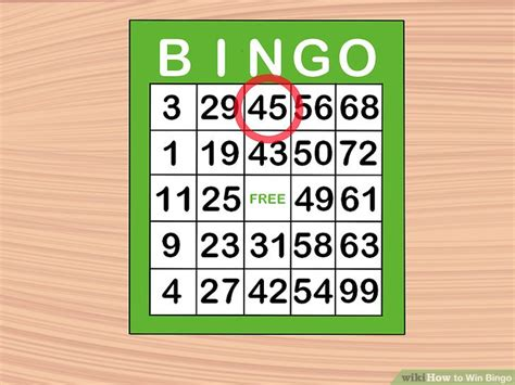 How To Win Bingo 10 Steps (with Pictures)  Wikihow