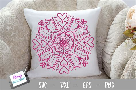 Upload my layered mandala svg into cricut design space. Mandala SVG Bundle - 6 Inspirational mandala designs