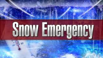 city of freeport declares snow emergency winter parking regulations in effect for 48 hours